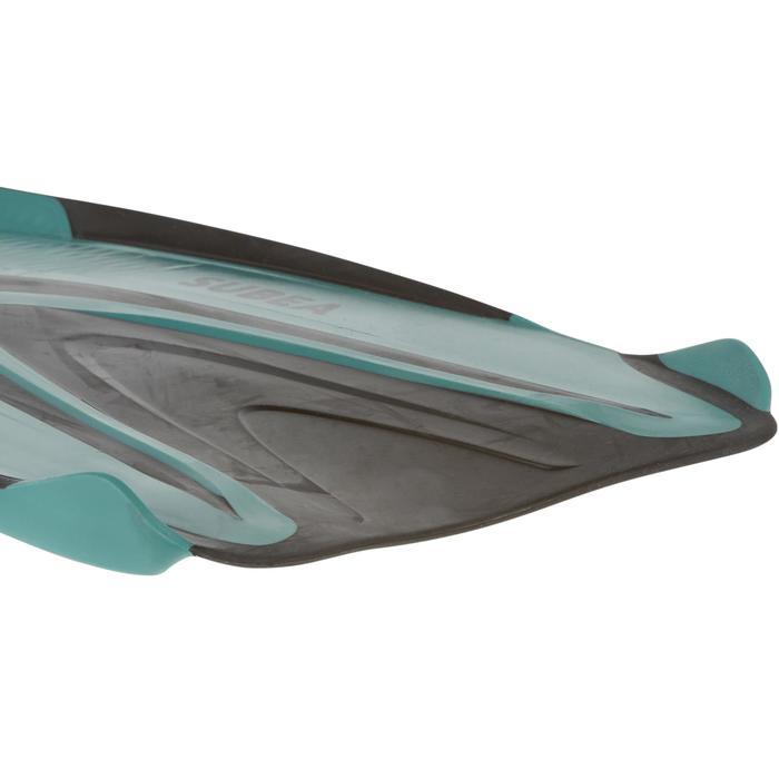Zwemvliezen voor diepzeeduiken SCD 500 turquoise
