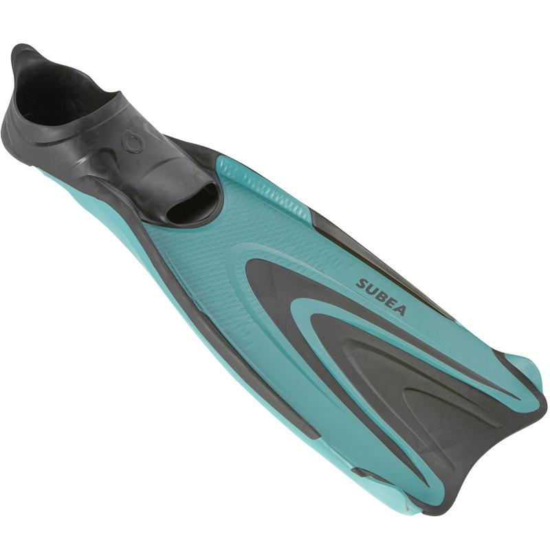 Scuba Diving Fins SCD 500 - Turquoise