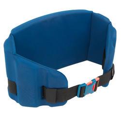 Drijfgordel van schuim voor aquagym, aquafitness en aquajogging blauw