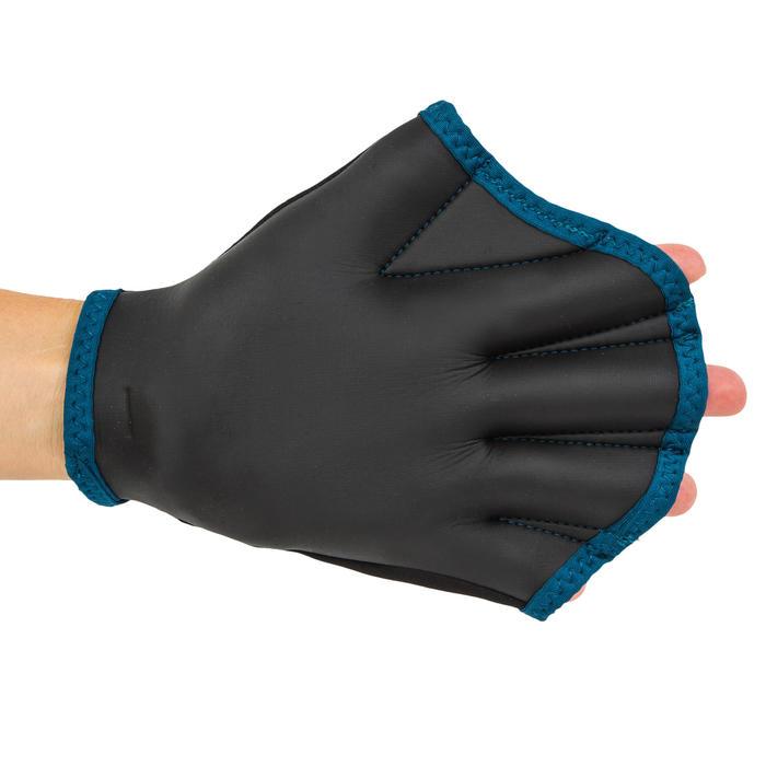 Neopreen handschoenen voor aquagym en aquafitness zwart
