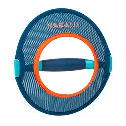 Par de halteres aquáticos Pullpush mesh Hidroginástica-Aquafitness azul laranja