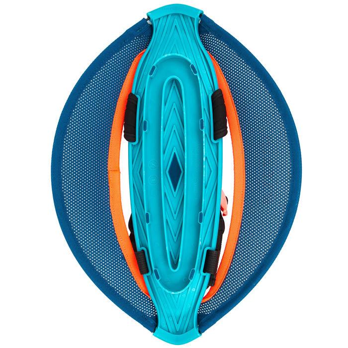 Par de halteres aquáticos Pullstep mesh Hidroginástica-Aquafitness azul laranja