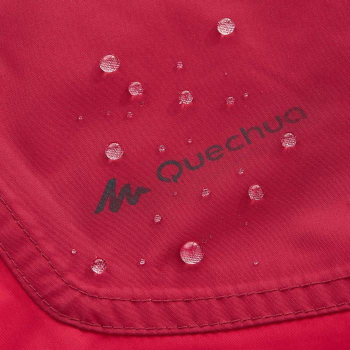 Waterdichte wandeljas voor dames NH100 roze