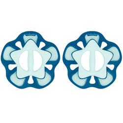 Haltères aquatiques Pullpush S flower Aquagym/Aquafitness vert