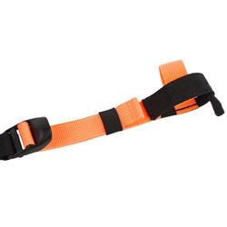 Fleshouder voor aquabike zwart/oranje
