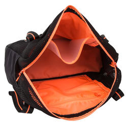 Tas voor aquagym en aquafitness zwart/oranje