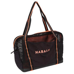 Aquafitness and Aqua aerobics Bag black orange