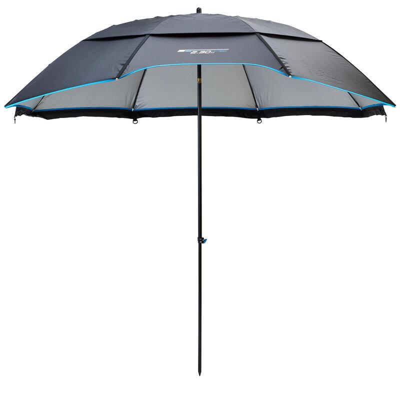 PRODUCTO OCASIÓN: Paraguas Sombrilla Pesca PF-U500 XL 2,3m Diámetro