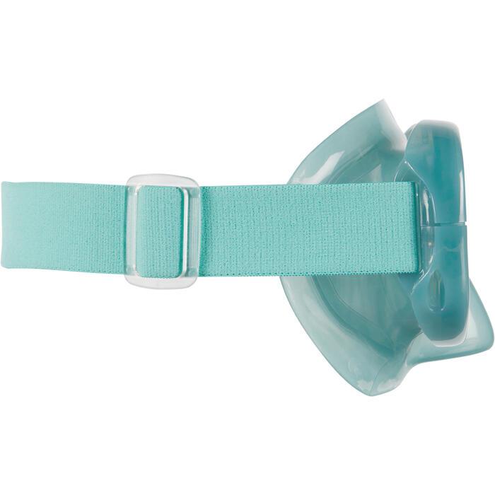 Snorkelset met duikbril en snorkel SNK 520 voor volwassenen Blauw