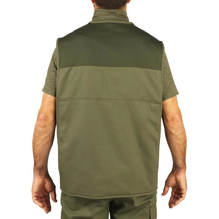 Chaleco Caza Solognac 100 Ligero Verde