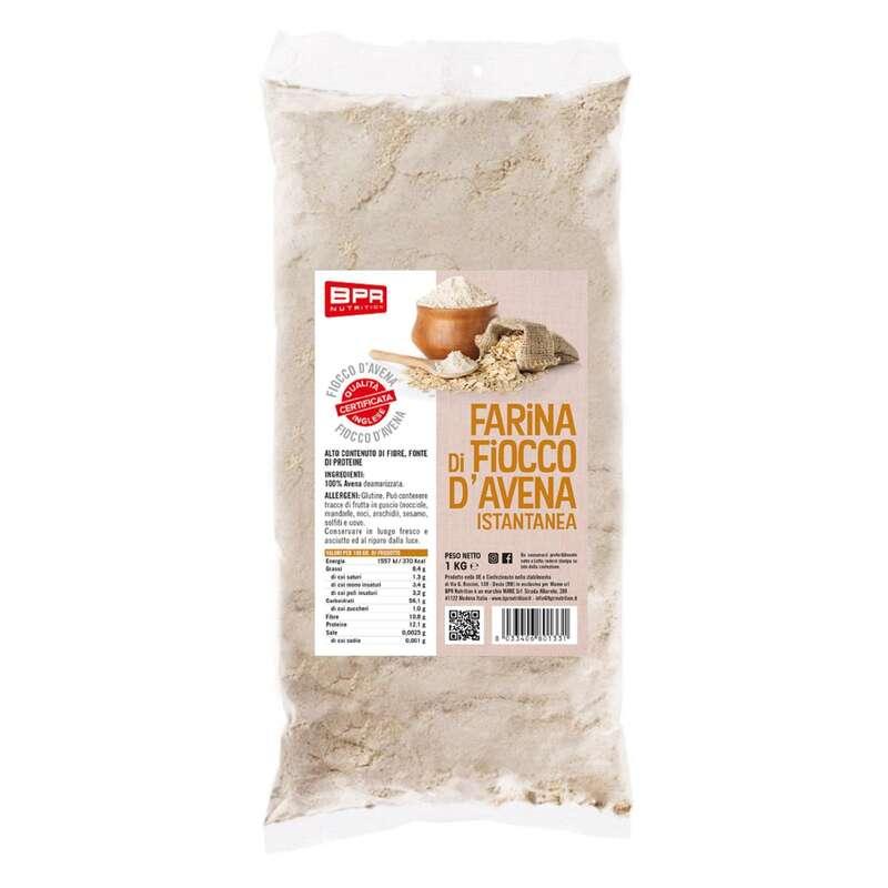 PROTEINE E COMPLEMENTI ALIMENTARI Alimentazione - Farina di fiocco d'avena BPR NUTRITION - Alimentazione