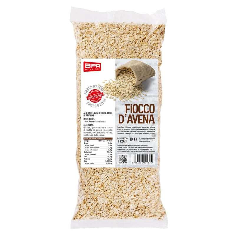 PROTEINE E COMPLEMENTI ALIMENTARI Alimentazione - Fiocco d'avena neutro baby 1kg BPR NUTRITION - Alimentazione