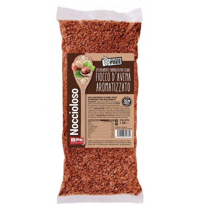 PROTEINE E COMPLEMENTI ALIMENTARI Alimentazione - Fiocco d'avena aromatizzato1kg BPR NUTRITION - Alimentazione