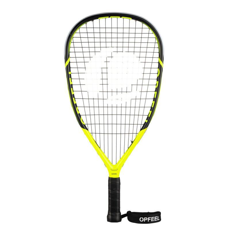 Raqueta Squash57 Opfeel SR57 500 Perfeccionamiento Adulto Amarillo/Negro