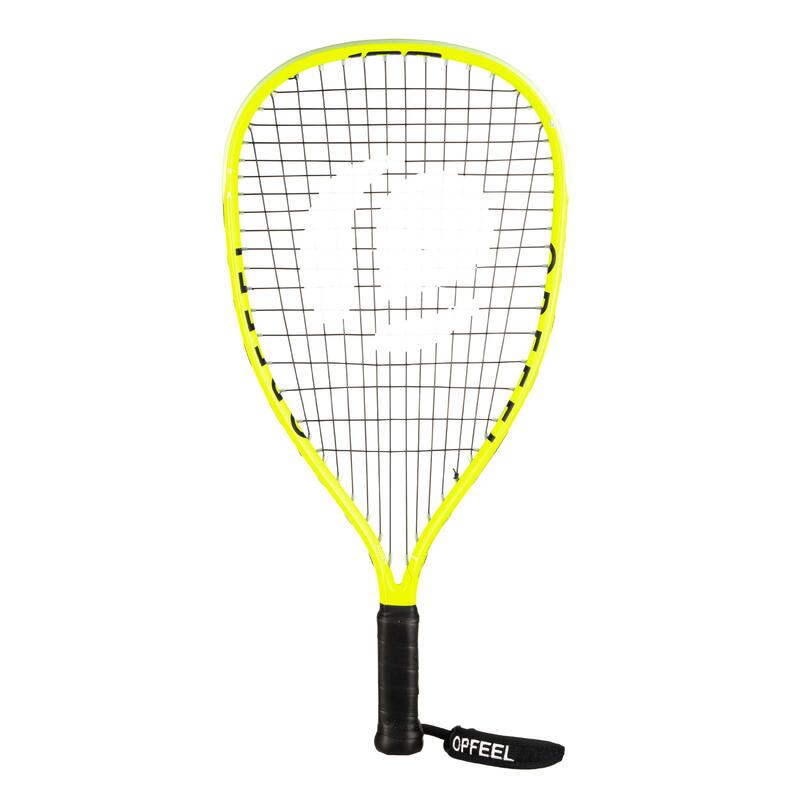 Raqueta Squash57 Opfeel SR57 100 Iniciación Adulto Amarillo