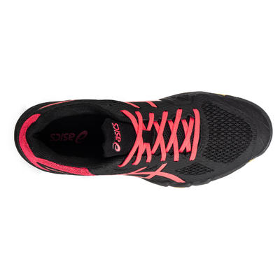 Chaussure de Badminton Squash Sports Indoor femme Gel Blade 7 Noir Rose