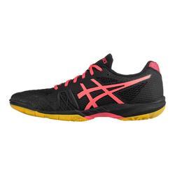 Schoenen badminton squash zaalsporten dames Gel Blade 7 zwart/roze