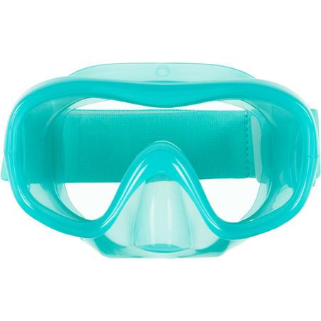 Tirkizna dečja maska za snorkeling 520