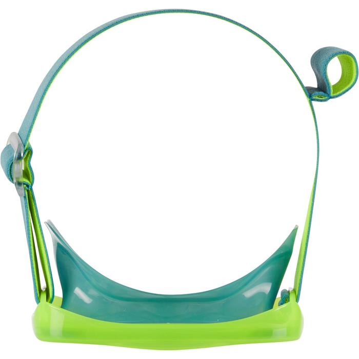 Kids' Diving snorkelling kit Mask and Snorkel SNK 520 - Fluo Green