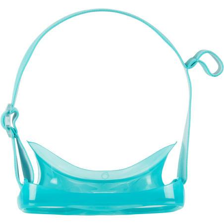Máscara Snorkel SNK 520 Niños Turquesa Cristal Policarbonato
