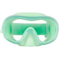 Дитяча маска 520 для снорклінгу - Неонова зелена