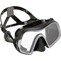 ADULT SCUBA DIVING MASK 500 - BLACK