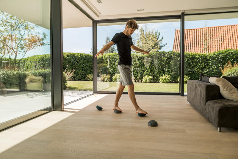 Gym & Pilates Reversible & Adjustable Feet Rehab / Mobility Balance Station
