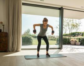 Fortaleça os músculos