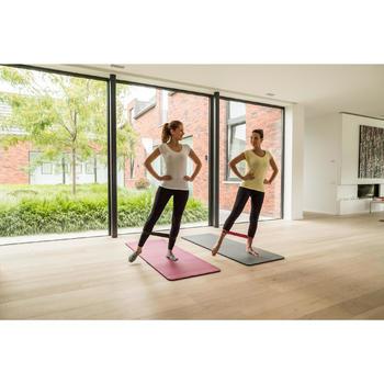 Fitnessmat pilatesmat Comfort M bordeaux 180 cm x 60 cm x 15 mm