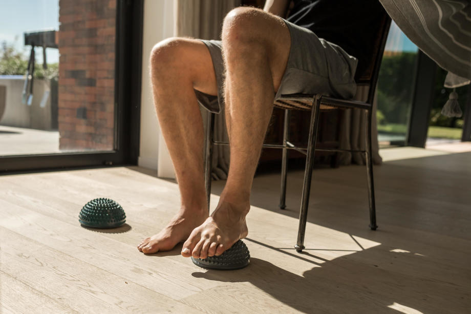 ma routine feet mobility
