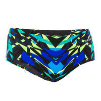 Men's Swimming Bandeau Briefs 900 - Kal Green