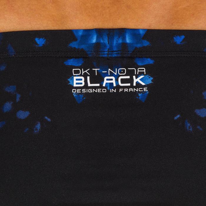 MAILLOT DE BAIN HOMME SLIP 900 NOIR PRINT BLACK