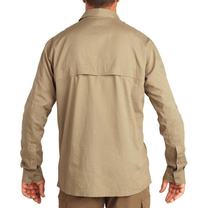 Chemise manches longues légère chasse 500 kaki