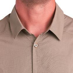 Jagd-Langarmhemd leicht 500 braun