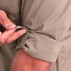 500 Kemeja Berburu Lengan Panjang Ringan - Cokelat