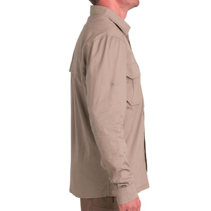 Licht overhemd met lange mouwen voor de jacht 500 bruin