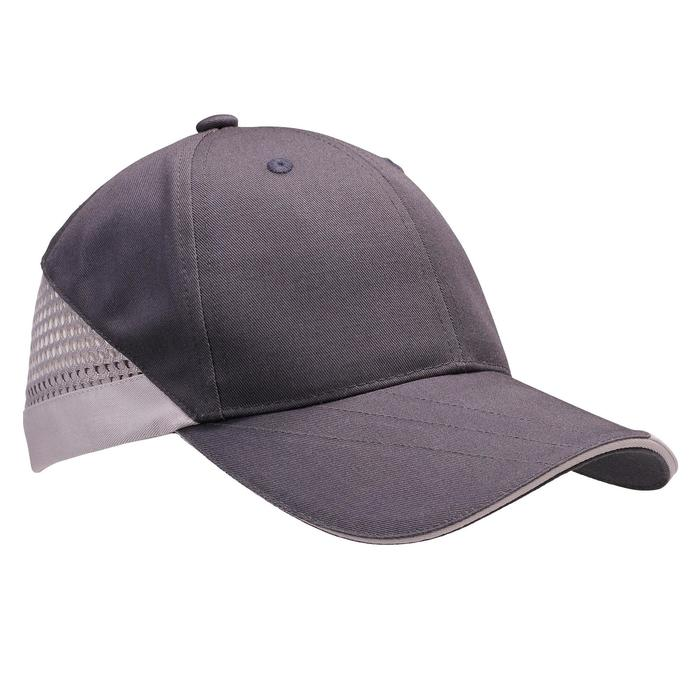 CASQUETTE BALL TRAP GRIS ANTHRACITE