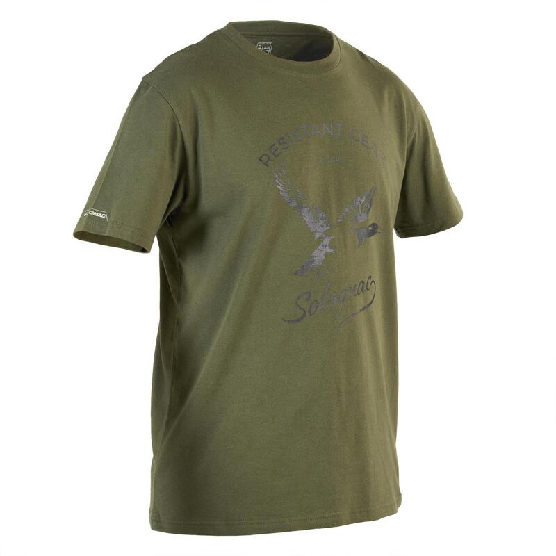 T-shirt manches courtes chasse 100 Canard