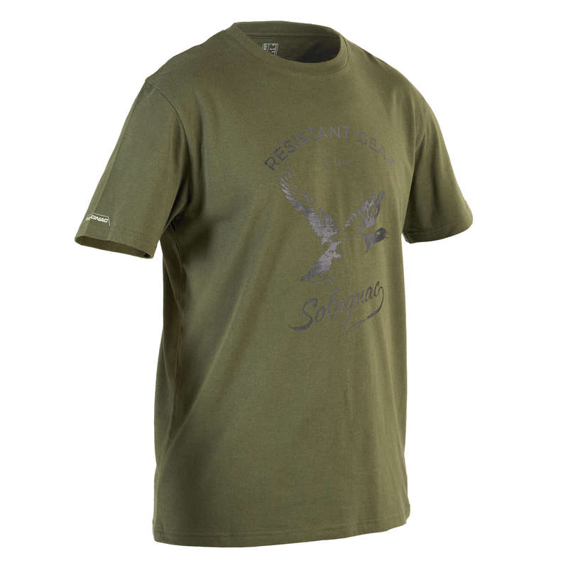 T-SHIRTS/POLOS Shooting and Hunting - T-Shirt 100 MC Duck SOLOGNAC - Hunting and Shooting Clothing