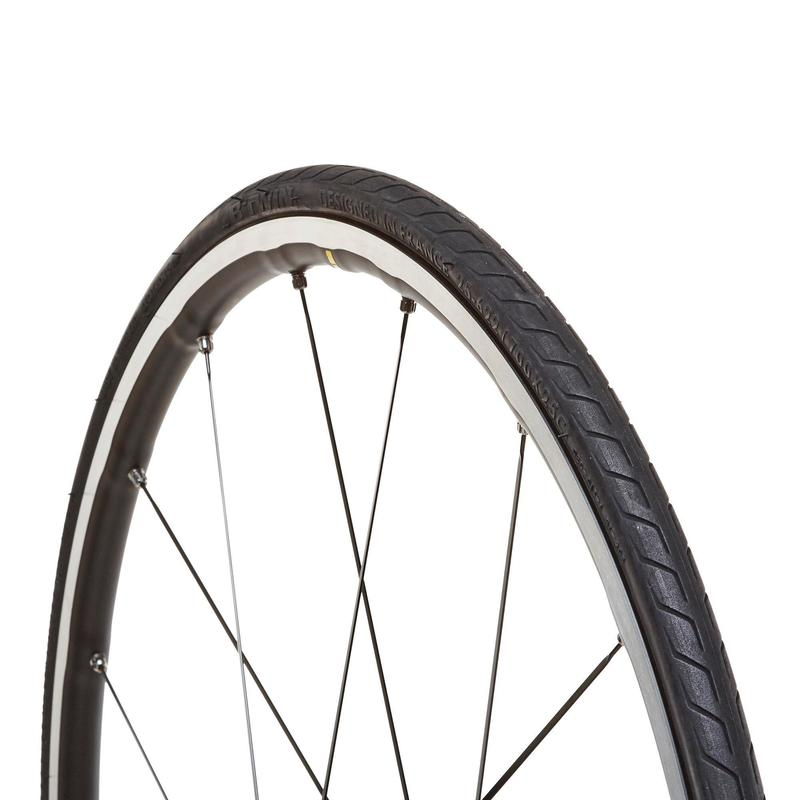 Triban Protect Lightweight Road Bike Tyre - 700x25