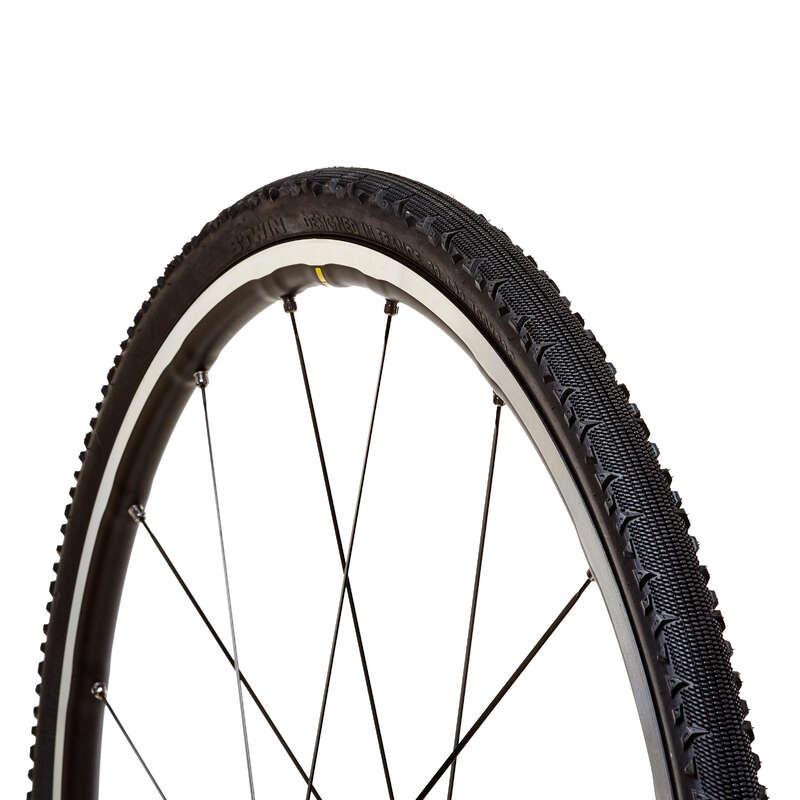 PLÁŠŤ SILNIČNÍ Cyklistika - PLÁŠŤ GRAVEL 700 × 32 BTWIN - Náhradní díly na kolo