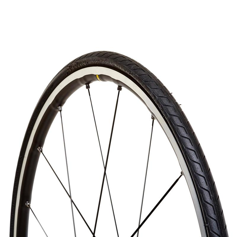 Triban Protect Road Bike Tyre - 650x25