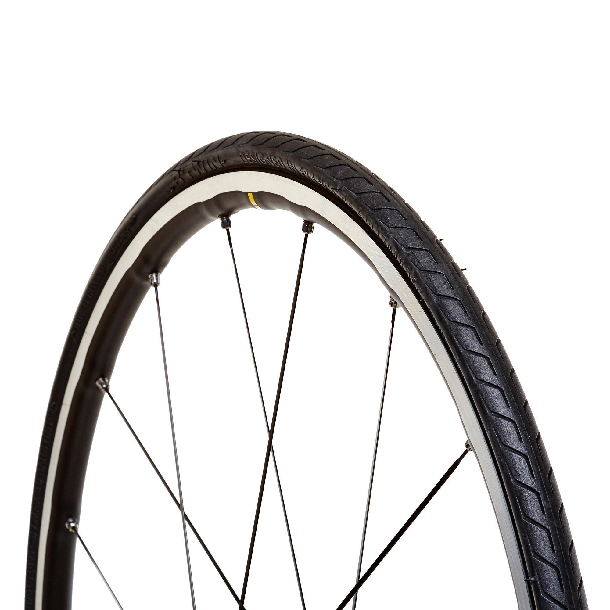 700 C vélo pneu pneus Michelin Dynamic Classique Fil 700x28c Tan wall