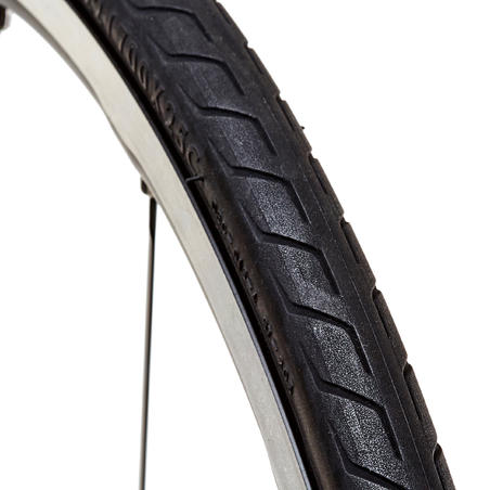 Triban Protect Light Road Tyre 700x25 + Flex Bead / ETRTO 25-622