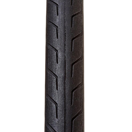 Triban Protect Lightweight Road Bike Tyre - 700x28