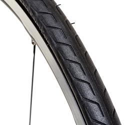 Buitenband voor racefiets Triban Protect 700x25 draadband / ETRTO 25-622