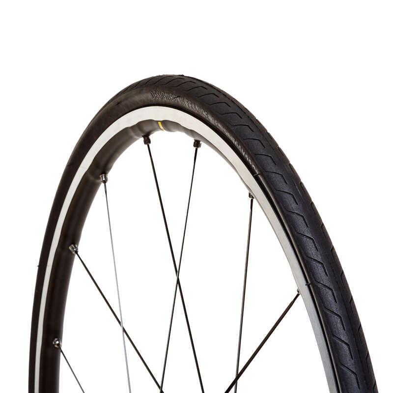 DÄCK LANDSVÄGSCYKEL Cykelsport - TRIBAN PROTECT LIGHT 700x28 BTWIN - Cykeldäck
