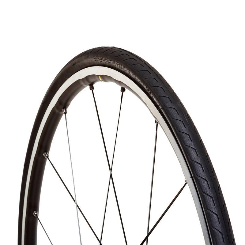 PLÁŠŤ SILNIČNÍ Cyklistika - PLÁSŤ TRIBAN PR. LIGHT 700×28 BTWIN - Náhradní díly na kolo