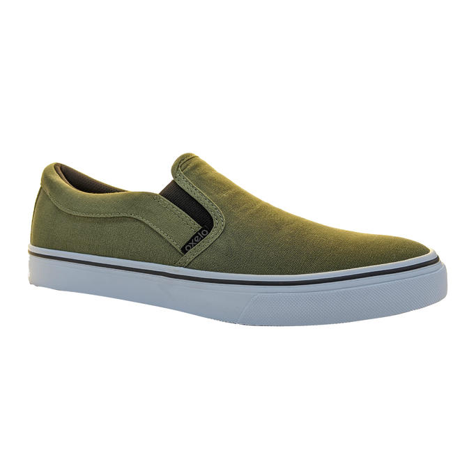 Slipon Skateboarding Canvas shoe- Khaki