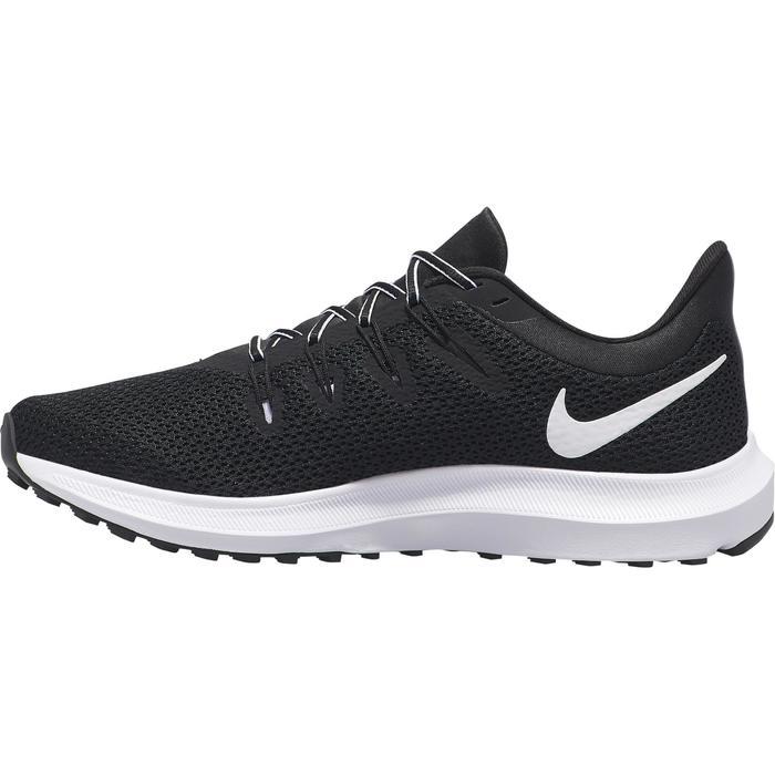 chaussure de jogging course à pied femme NIKE QUEST Lady noire